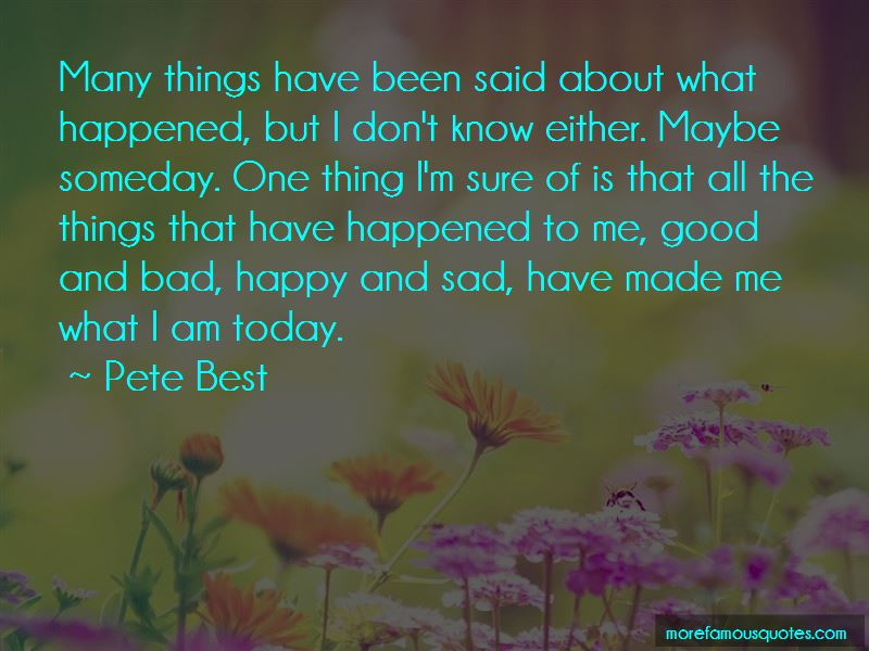 Pete Best Quotes Pictures 3