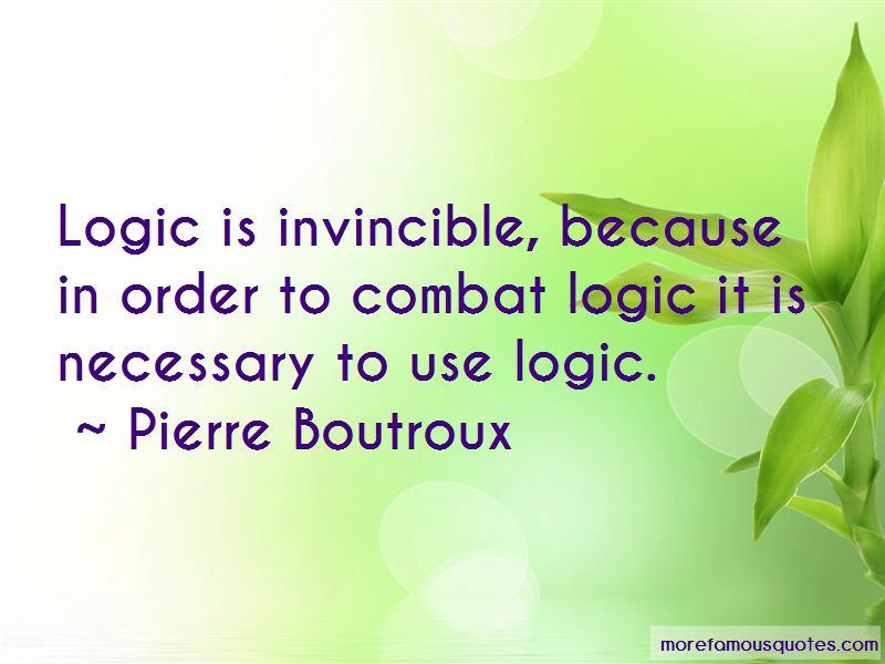 Pierre Boutroux Quotes