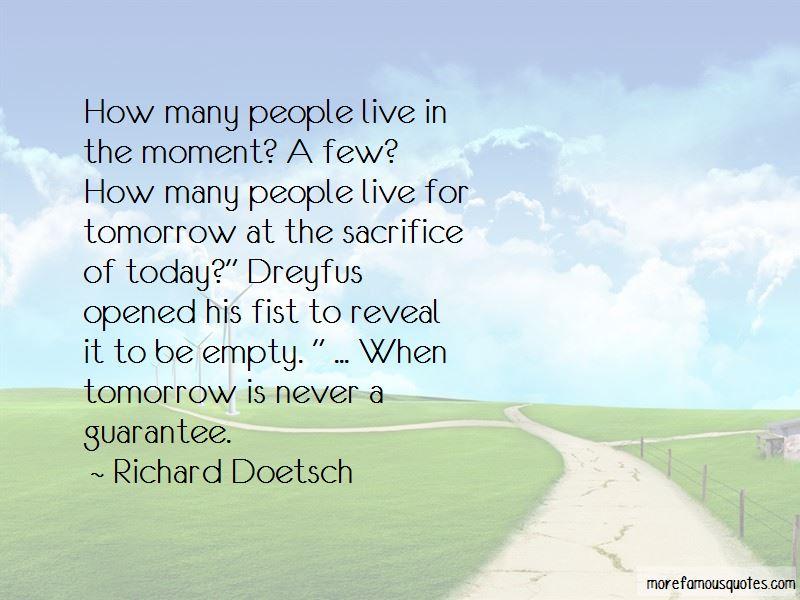 Richard Doetsch Quotes