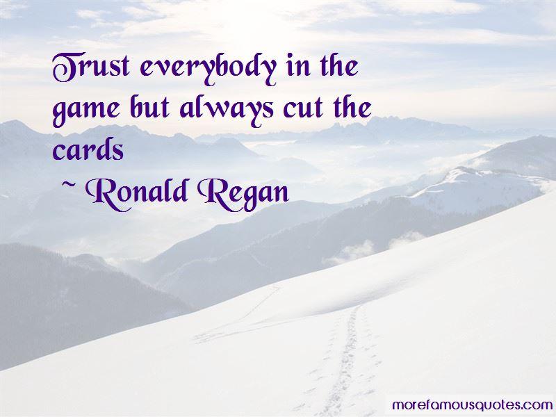 Ronald Regan Quotes