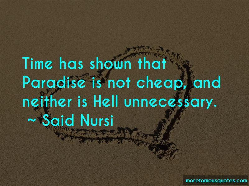 Said Nursi Quotes Pictures 2