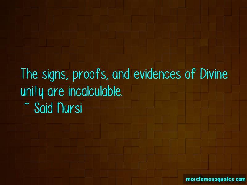 Said Nursi Quotes