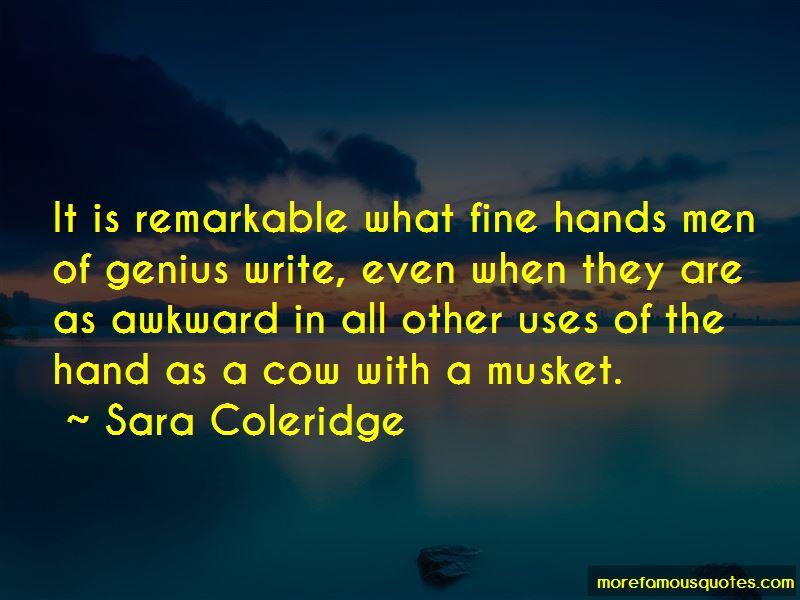 Sara Coleridge Quotes