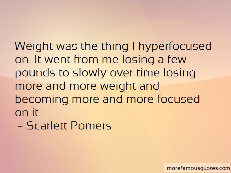 Scarlett Pomers Quotes