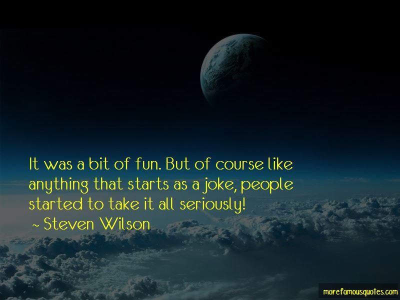 Steven Wilson Quotes Pictures 2
