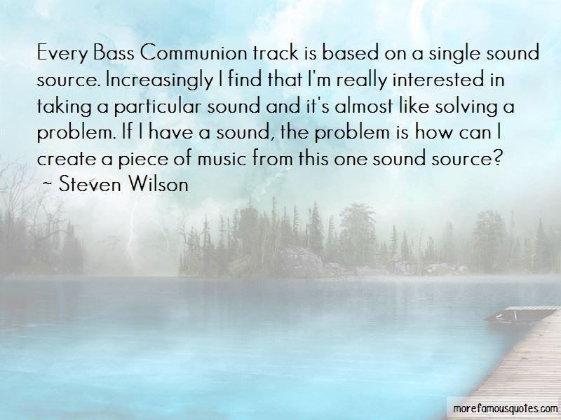 Steven Wilson Quotes Pictures 4