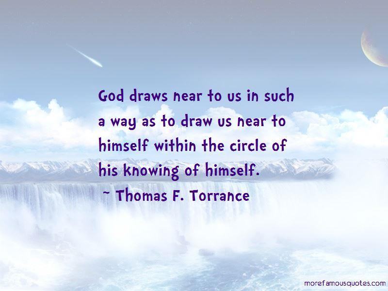 Thomas F. Torrance Quotes