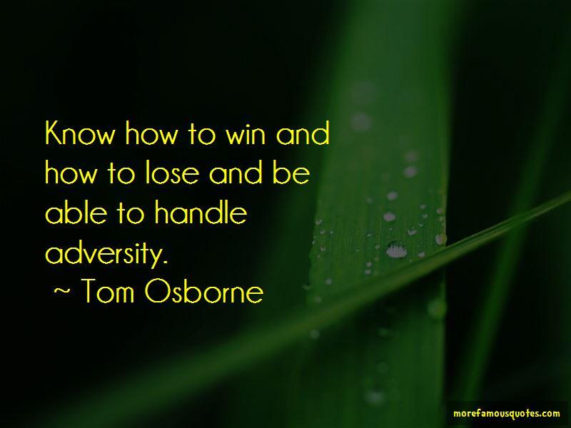 Tom Osborne Quotes Pictures 4