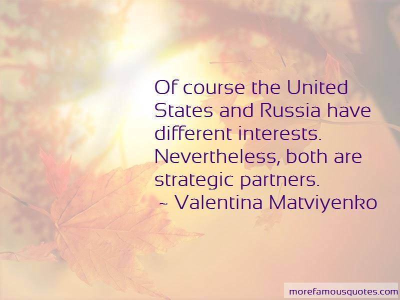 Valentina Matviyenko Quotes Pictures 2
