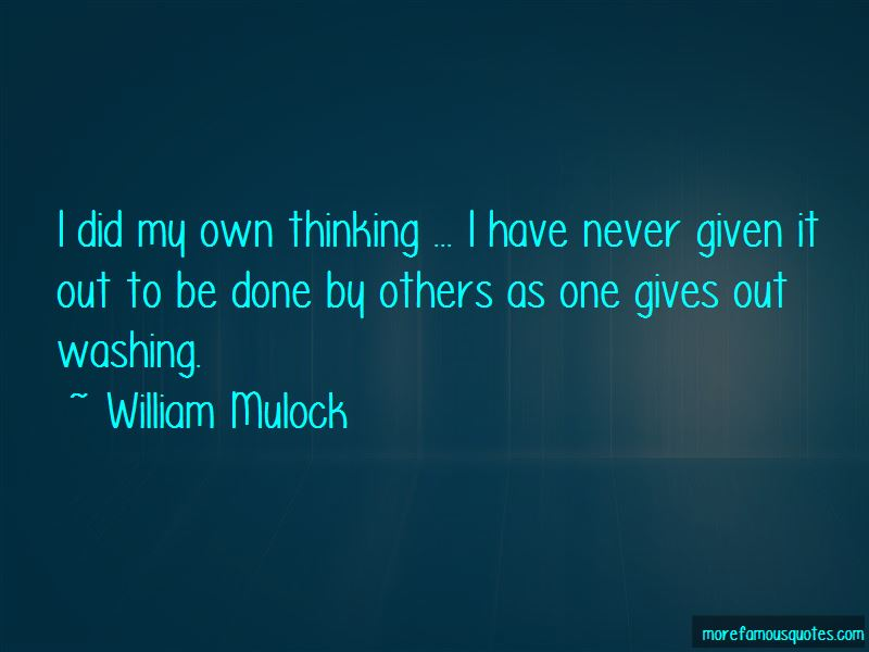 William Mulock Quotes