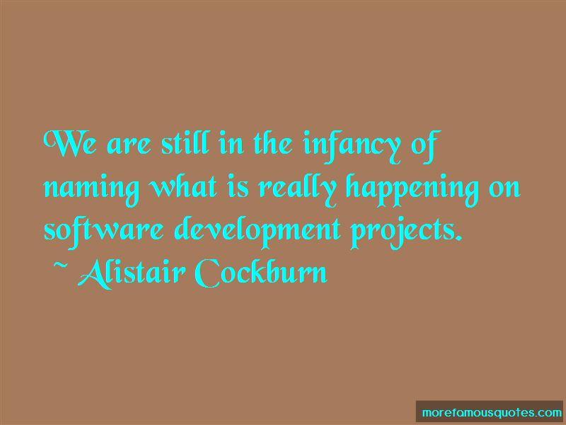 Alistair Cockburn Quotes Pictures 3