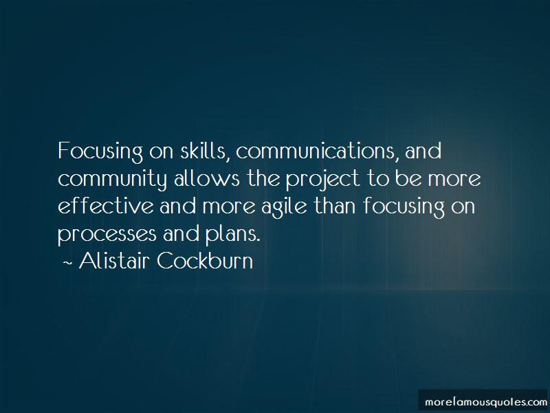 Alistair Cockburn Quotes