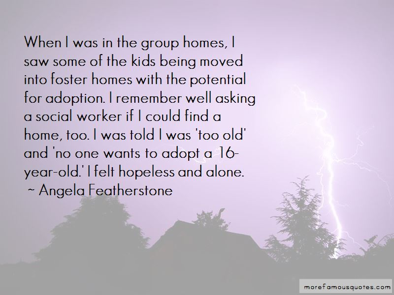 Angela Featherstone Quotes Pictures 2