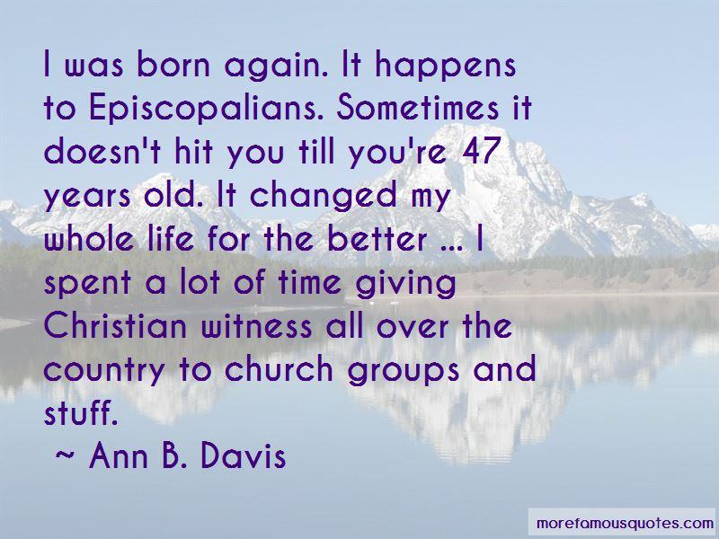 Ann B. Davis Quotes