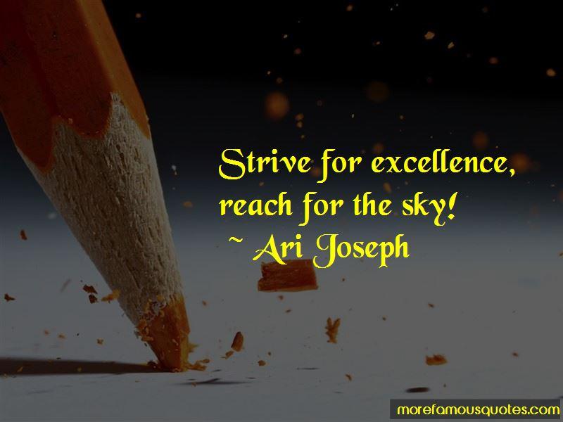 Ari Joseph Quotes