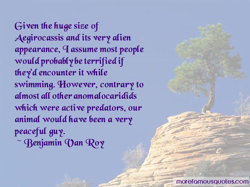 Benjamin Van Roy Quotes