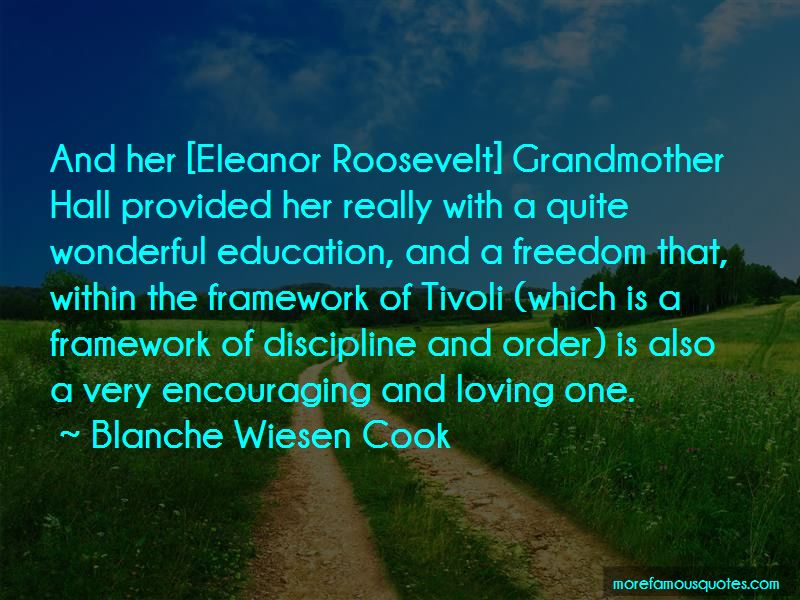 Blanche Wiesen Cook Quotes Pictures 2