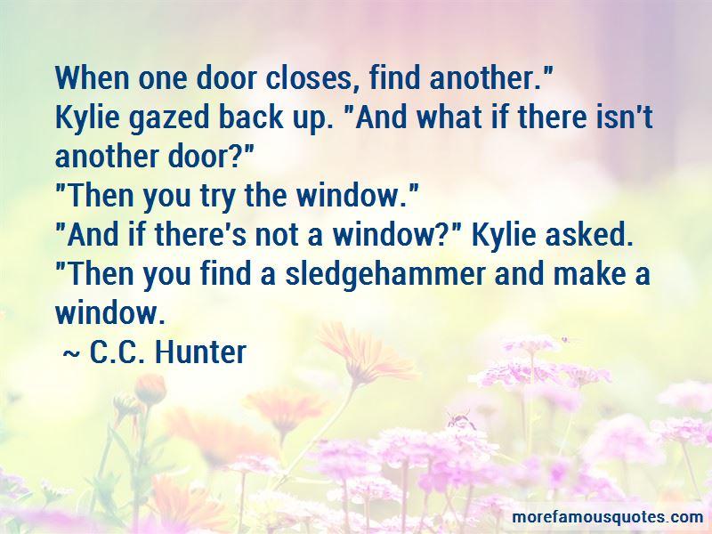 C.C. Hunter Quotes