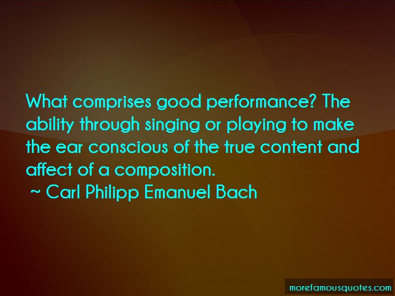 Carl Philipp Emanuel Bach Quotes Pictures 4