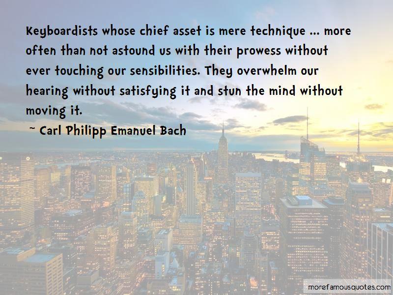 Carl Philipp Emanuel Bach Quotes