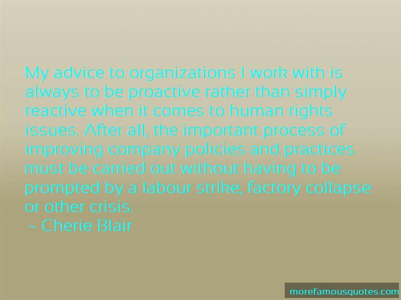 Cherie Blair Quotes