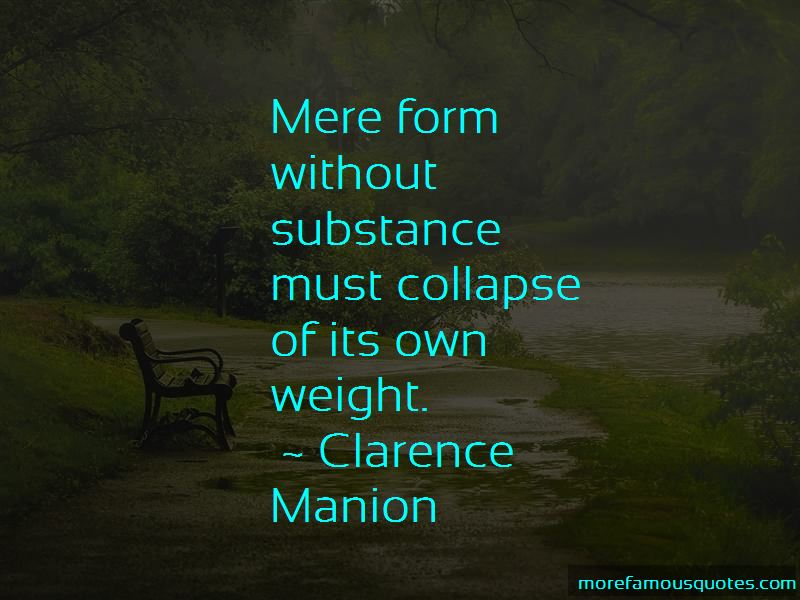 Clarence Manion Quotes
