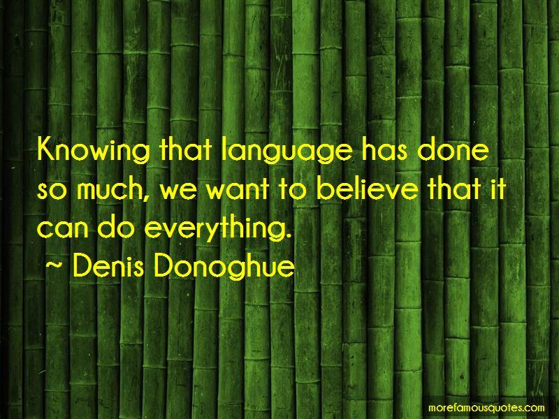 Denis Donoghue Quotes Pictures 2