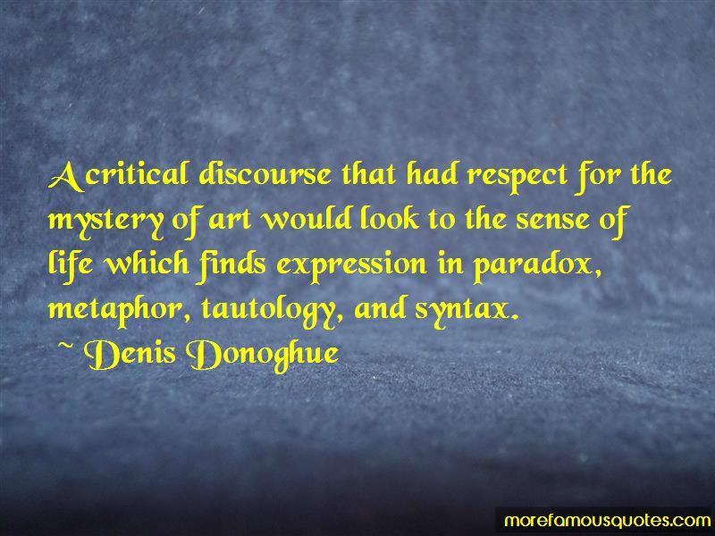 Denis Donoghue Quotes Pictures 3