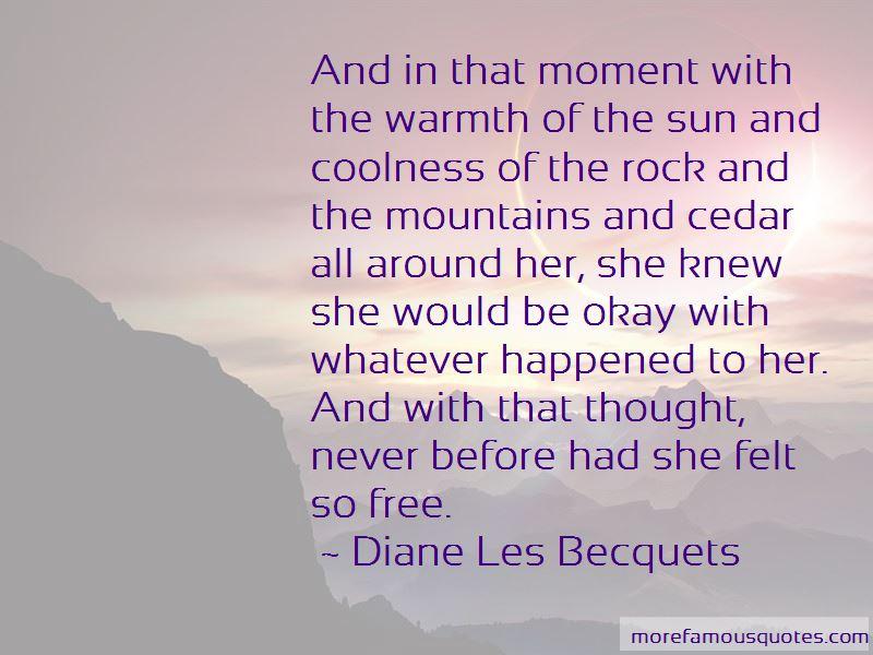 Diane Les Becquets Quotes Pictures 2