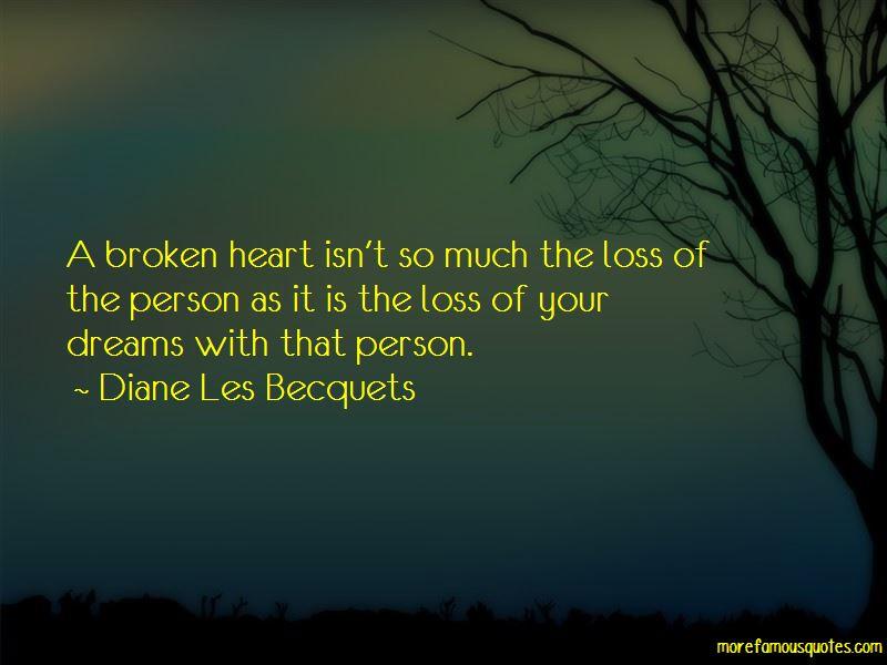 Diane Les Becquets Quotes