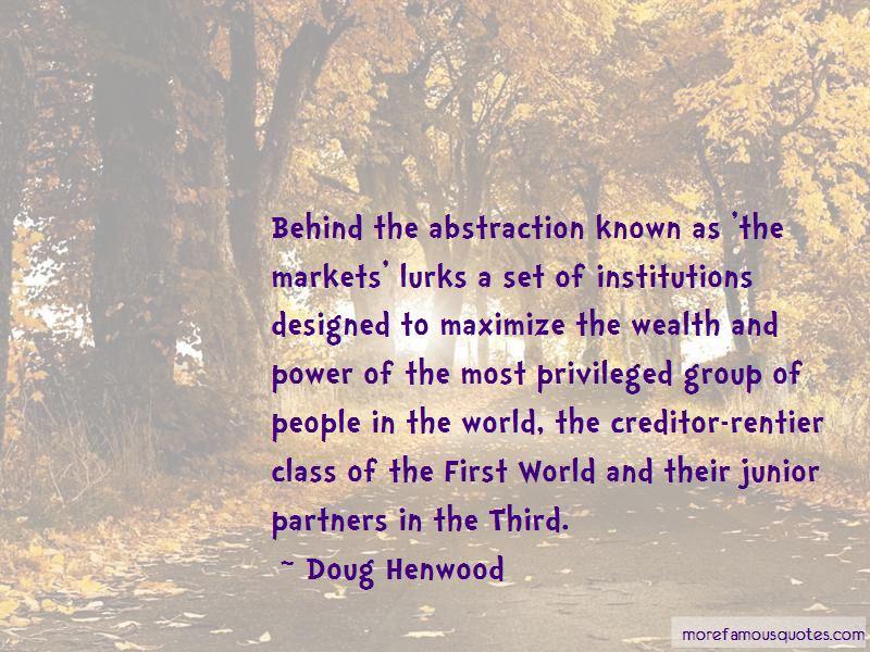 Doug Henwood Quotes Pictures 3
