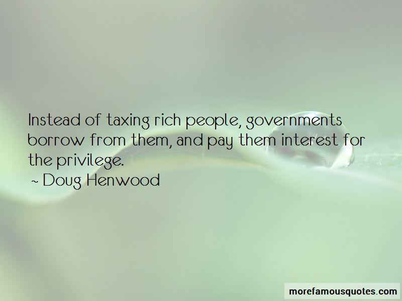 Doug Henwood Quotes