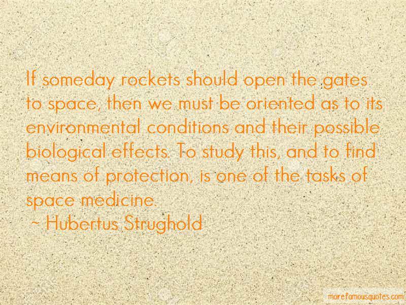 Hubertus Strughold Quotes Pictures 4