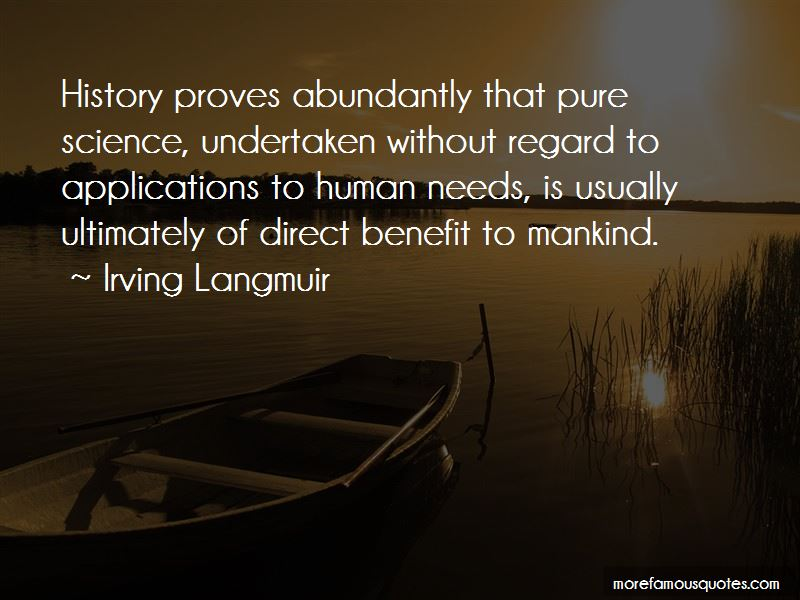 Irving Langmuir Quotes Pictures 2