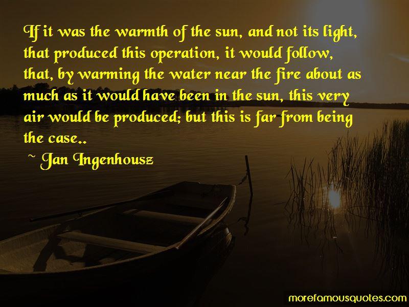 Jan Ingenhousz Quotes Pictures 2