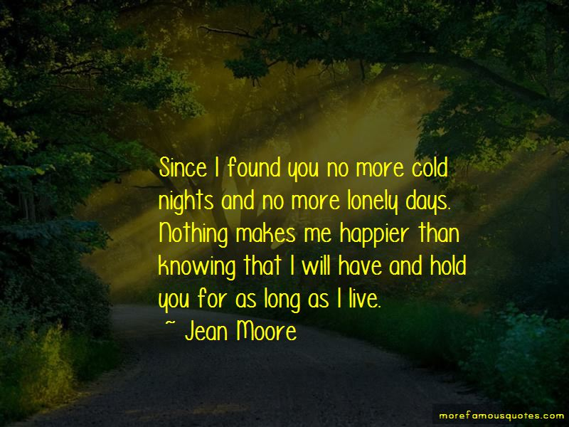 Jean Moore Quotes
