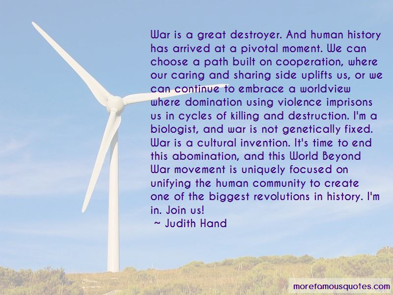 Judith Hand Quotes