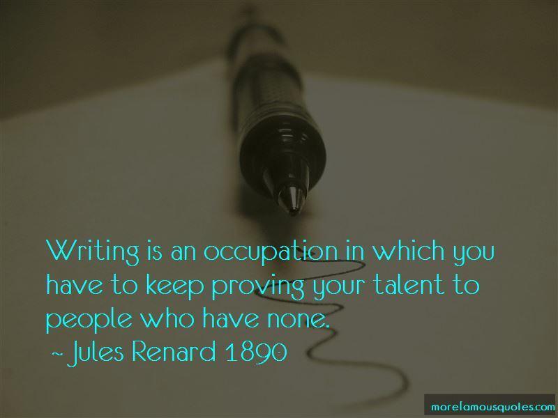 Jules Renard 1890 Quotes