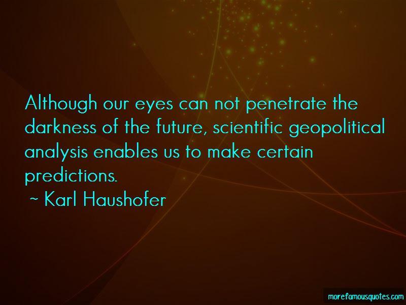 Karl Haushofer Quotes