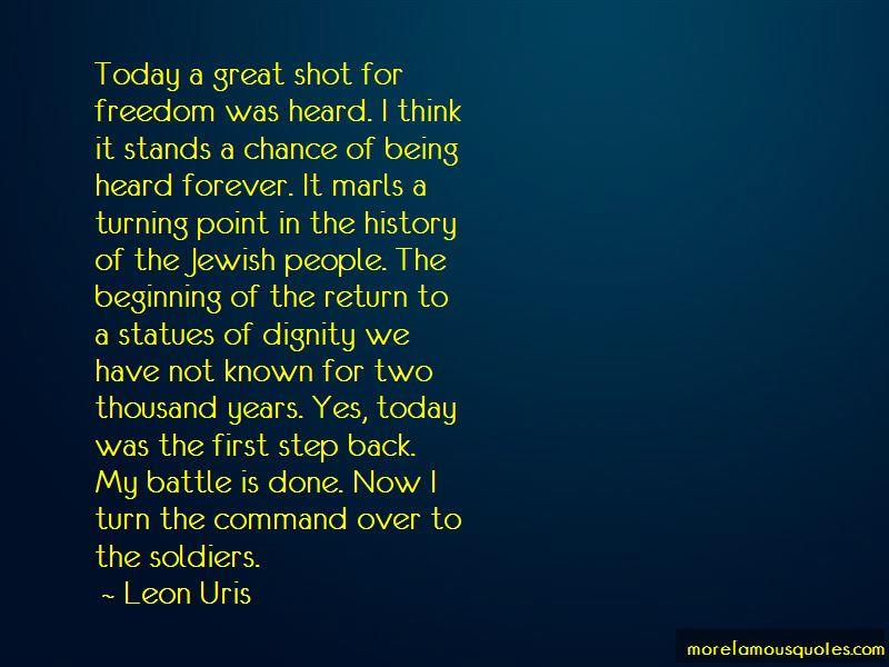 Leon Uris Quotes Pictures 4