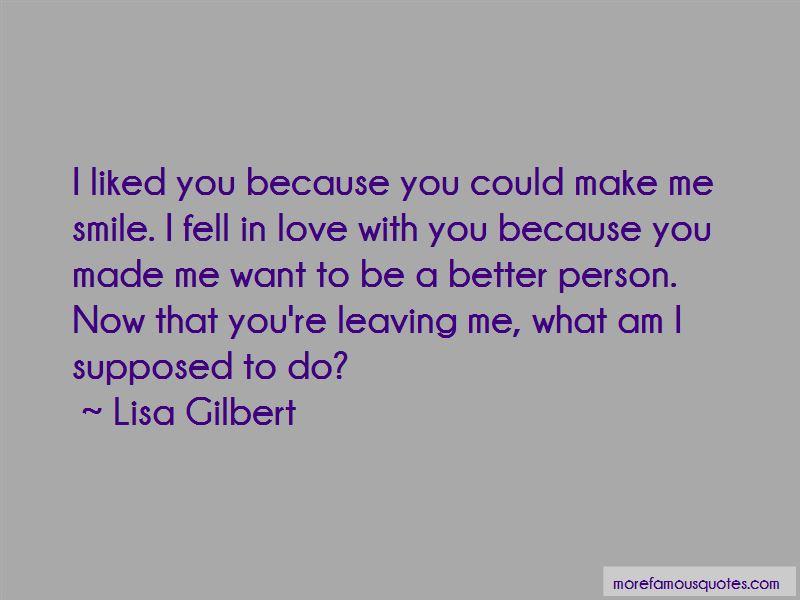 Lisa Gilbert Quotes