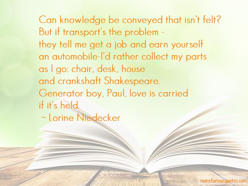 Lorine Niedecker Quotes