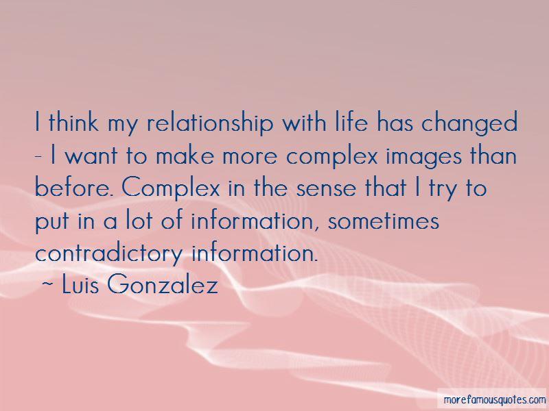 Luis Gonzalez Quotes