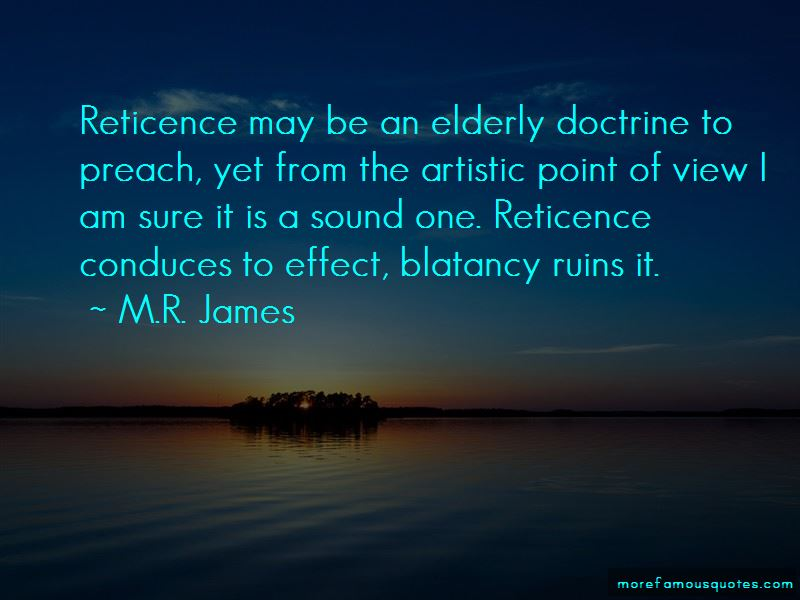 M.R. James Quotes Pictures 2