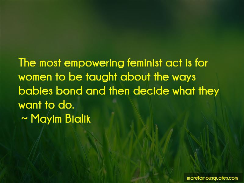 Mayim Bialik Quotes Pictures 2