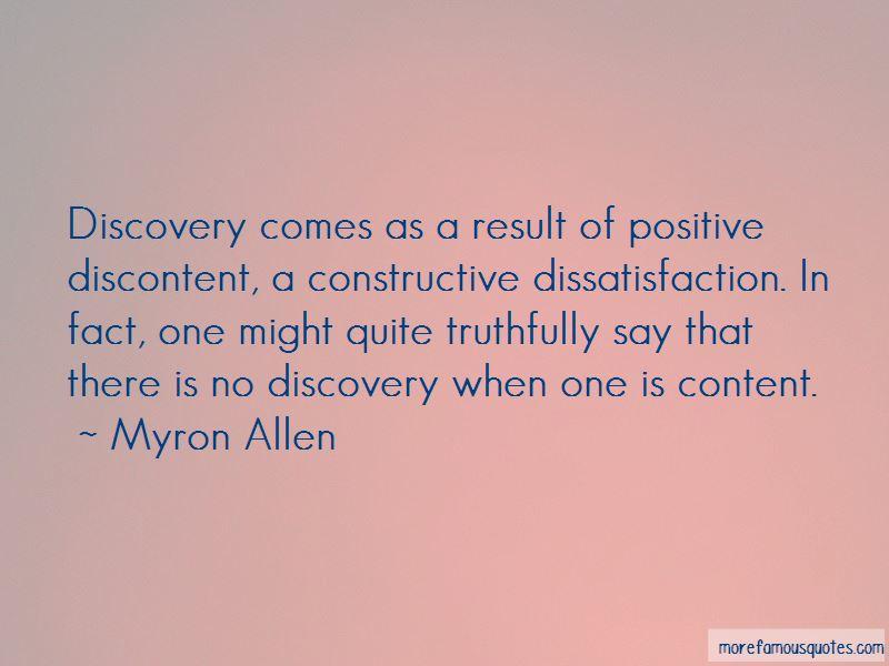 Myron Allen Quotes