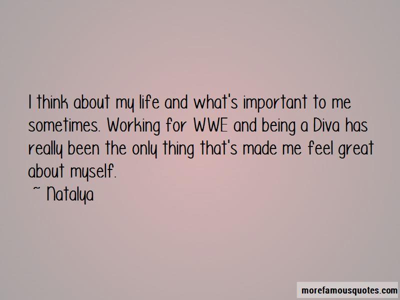 Natalya Quotes