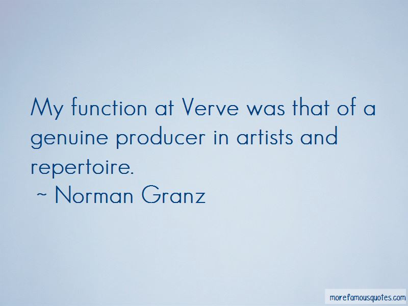 Norman Granz Quotes Pictures 4
