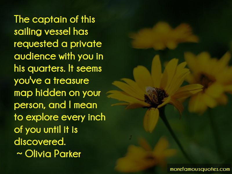 Olivia Parker Quotes