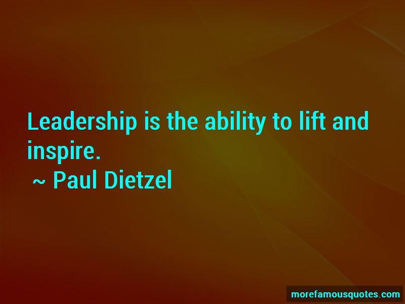 Paul Dietzel Quotes Pictures 3